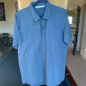 Travis Mathew Button Down Short Sleeve